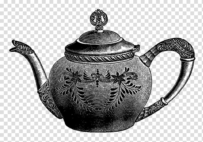 Teapot Drawing , tea pot transparent background PNG clipart.