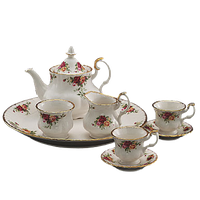 Download Tea Set Free PNG photo images and clipart.