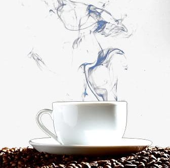 Smoke Tea PNG, Clipart, Beans, Coffee, Coffee Beans, Cup.