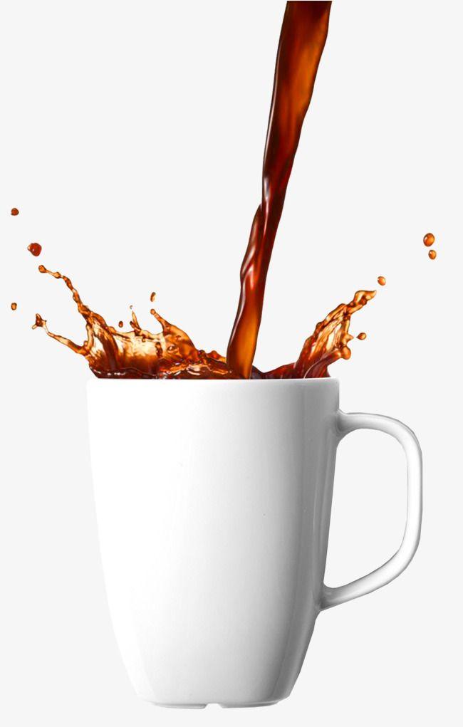 Splash Of Coffee, Splash Clipart, Coffee, Splatter PNG.