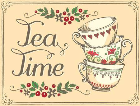 Tea time clipart » Clipart Portal.