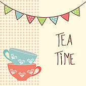 Tea time clipart 1 » Clipart Station.