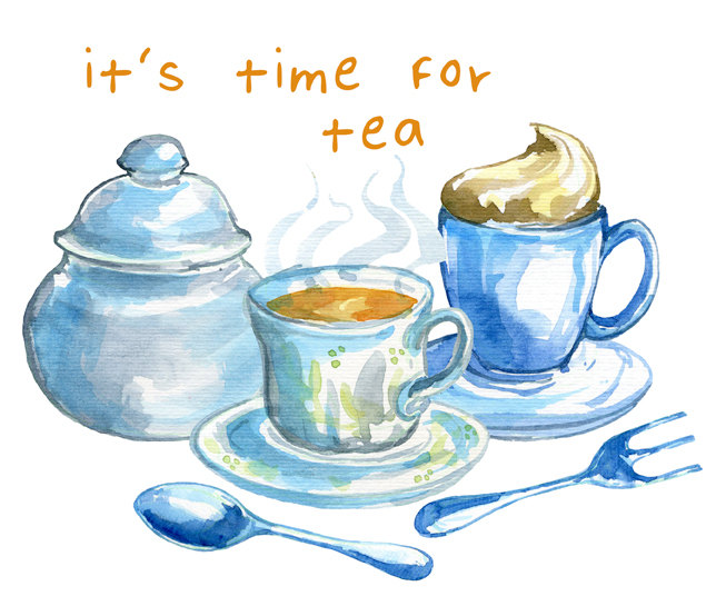 Tea time clipart 3 » Clipart Station.
