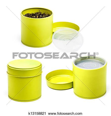 Stock Photography of Tea tin k13158821.