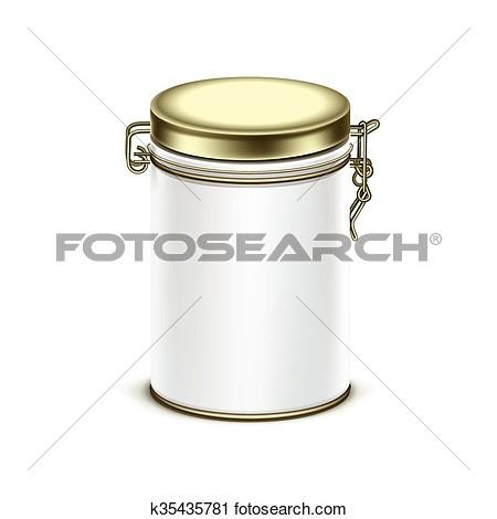 Tea container clipart.