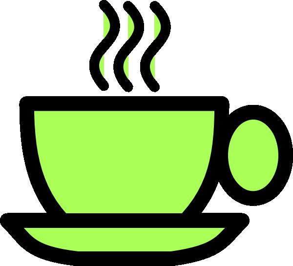 Green Tea Cup Clipart.