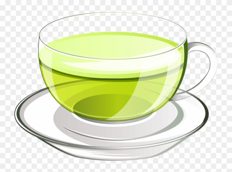 Free Png Download Cup Of Green Tea Png Vectorpicture.