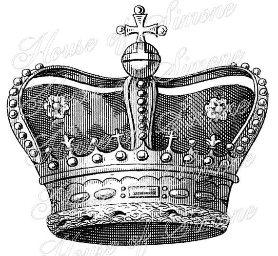 Regal Cross King Crown Royal Vintage Download Graphic Image.