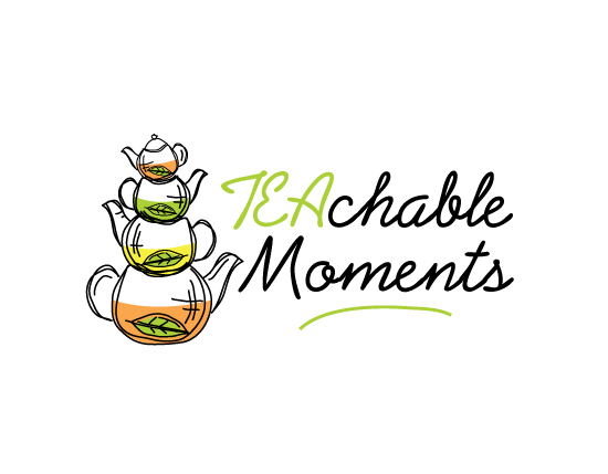 Playful, Modern, Education Logo Design for Teachable Moments.