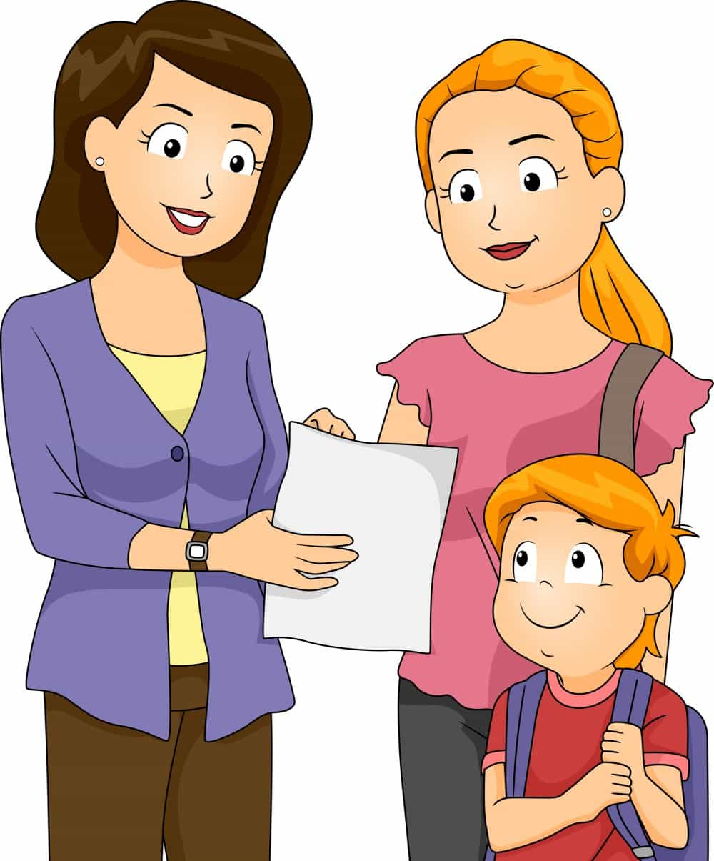 Parents Teacher Meeting Clipart.