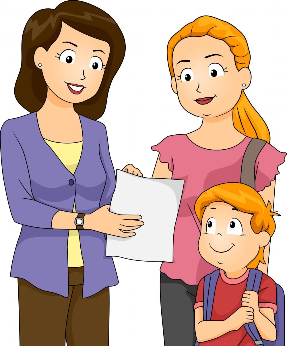 Parent Teacher Clipart.