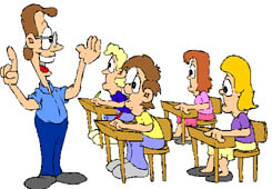 Teacher and pupils clipart 7 » Clipart Station.