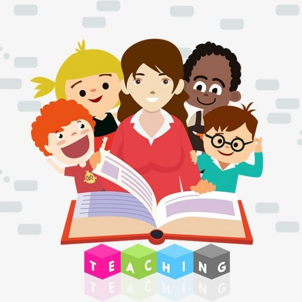 Teacher And Student Reading, Student Clipart, Reading.