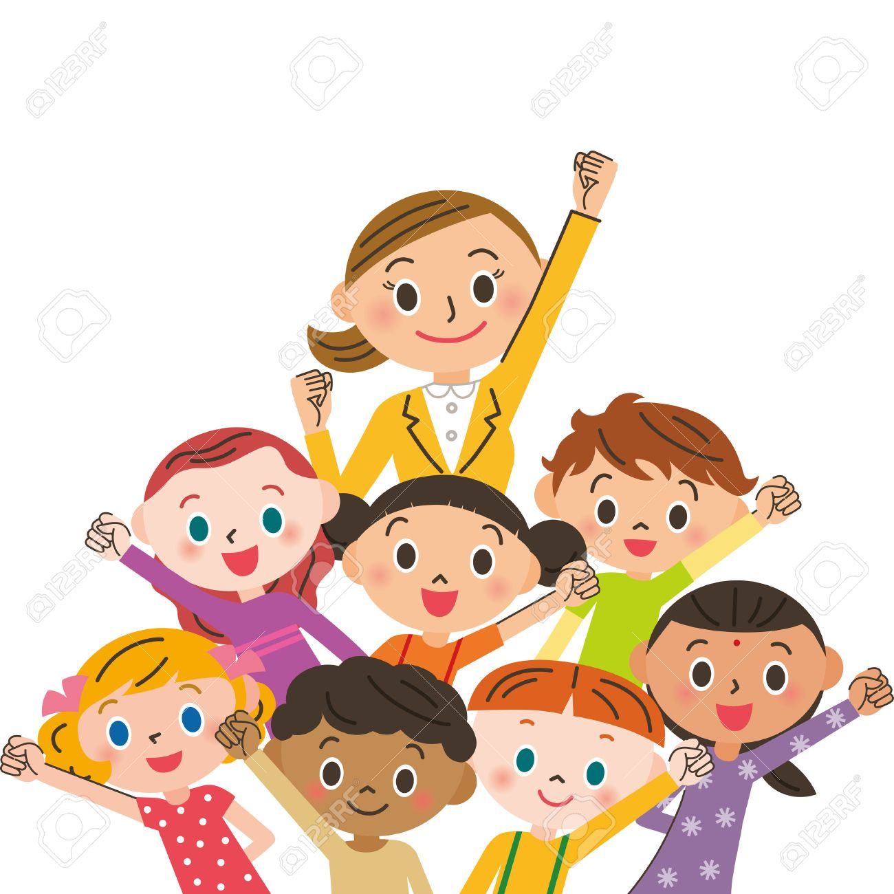 Teacher And Student Holding Hands Clipart.