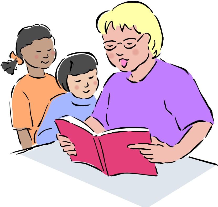 Best Reading Teacher Clipart #24809.