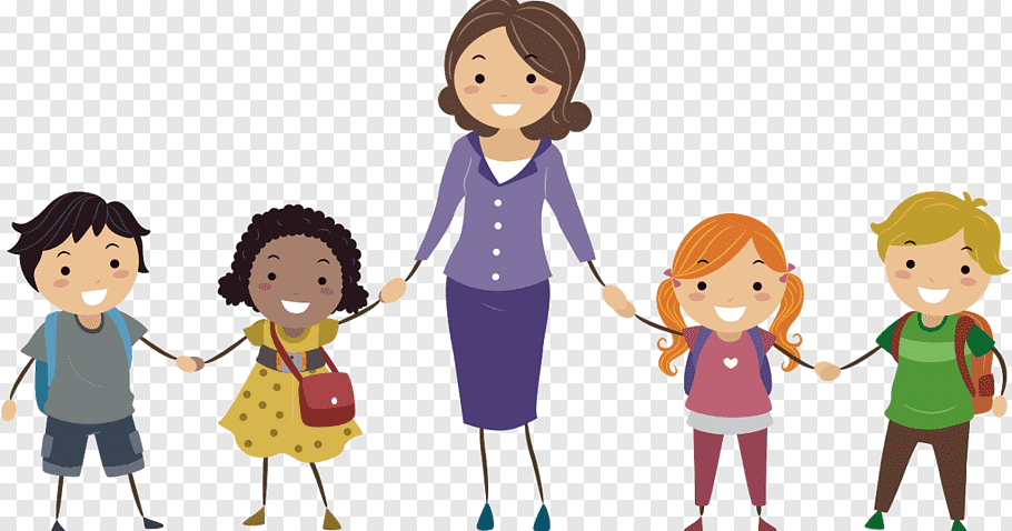 Parent Child, teacher and student free png.
