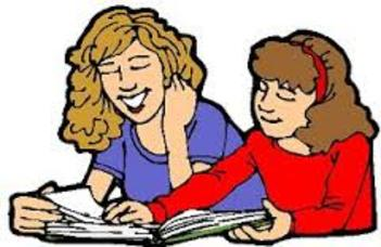 Student turning in homework clipart.