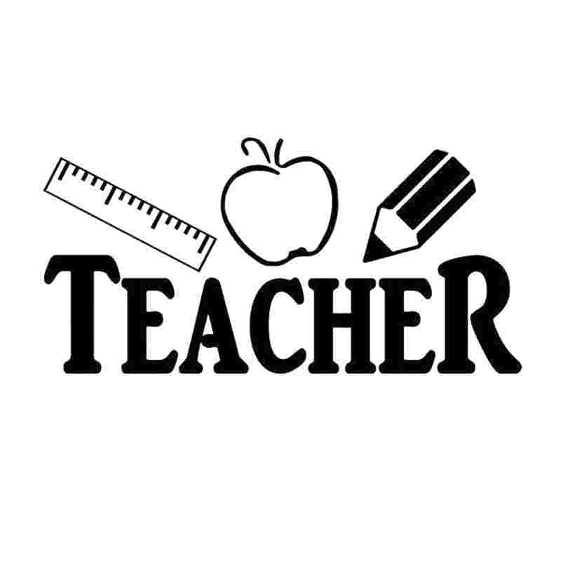 Best Cliparts: English Teacher Clipart Black And White Car.