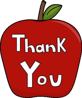 FREE Clipart for Teacher Appreciation Week.