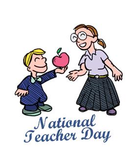 National Teacher Day.