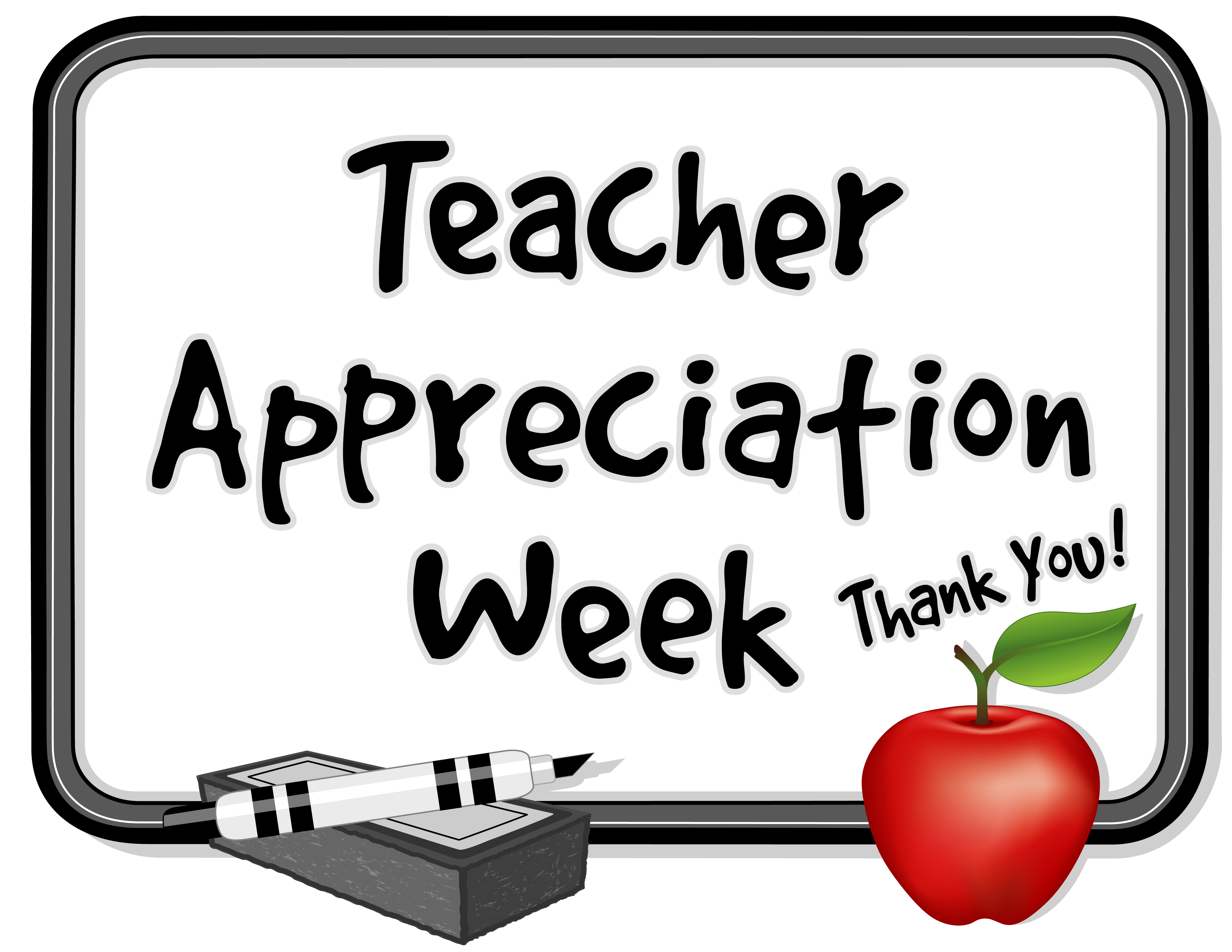 Clipart Teacher Appreciation Week.