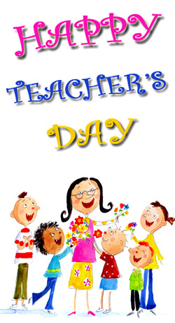 Teacher Appreciation Day.