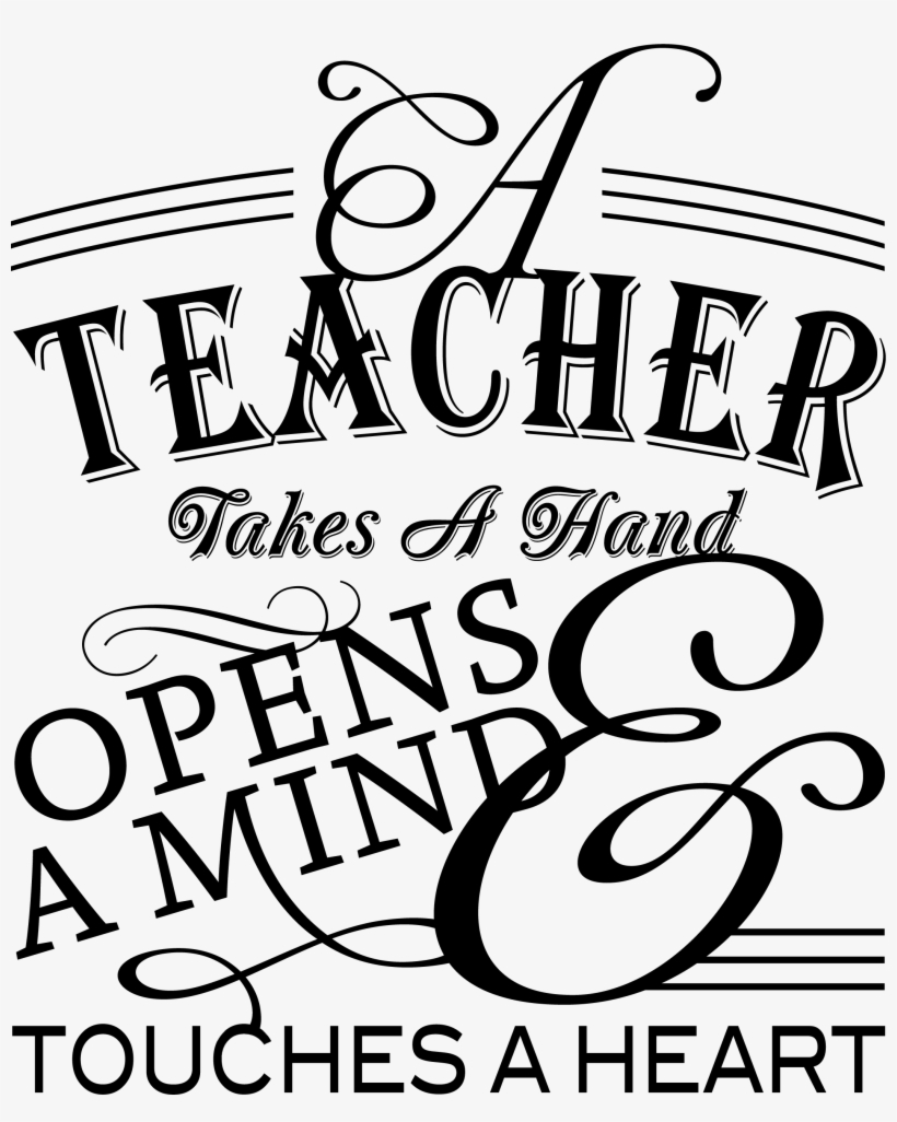Inspirational Quotes Teachers Appreciation Banner Freeuse.
