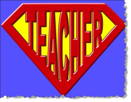 Superhero Clip Art for Teachers.