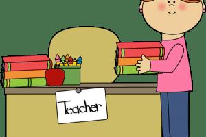Teacher at desk clipart 4 » Clipart Portal.