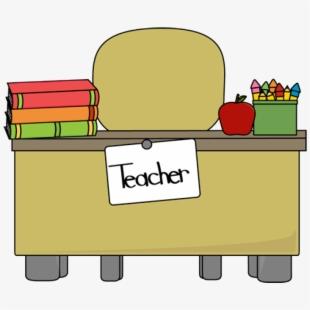Free Teachers Desk Clipart Cliparts, Silhouettes, Cartoons.