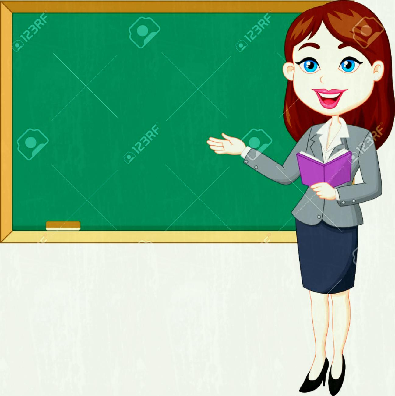 Blackboard with teacher clipart 8 » Clipart Station.