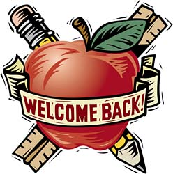 Welcome Back To School Clipart.