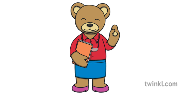 Teacher Bear Classroom PWHU School Education KS1.
