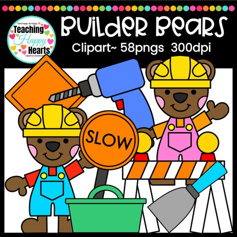 Builder Bears Clipart.