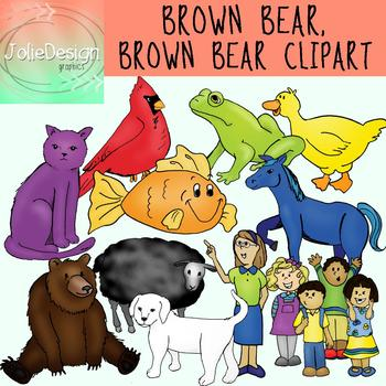 Brown Bear Brown Bear Clipart.