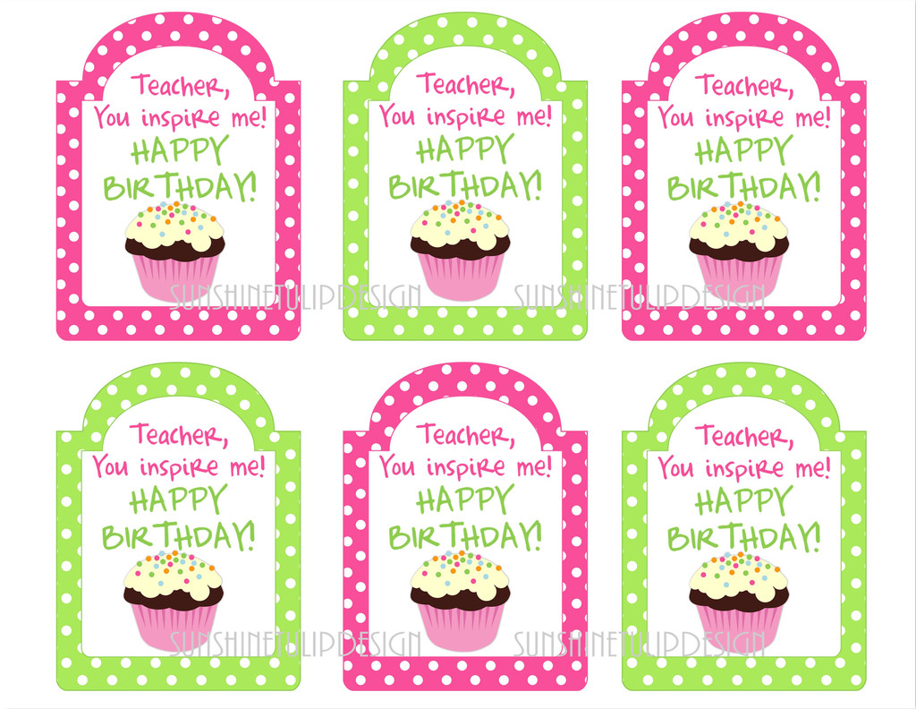 25+ best ideas about Happy Birthday Teacher on Pinterest.