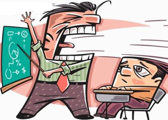 Teacher calls student a LOSER.