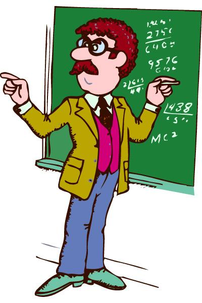 Female Teacher Clipart.