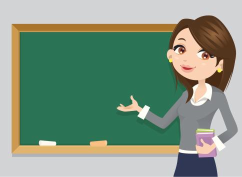 Teacher clipart