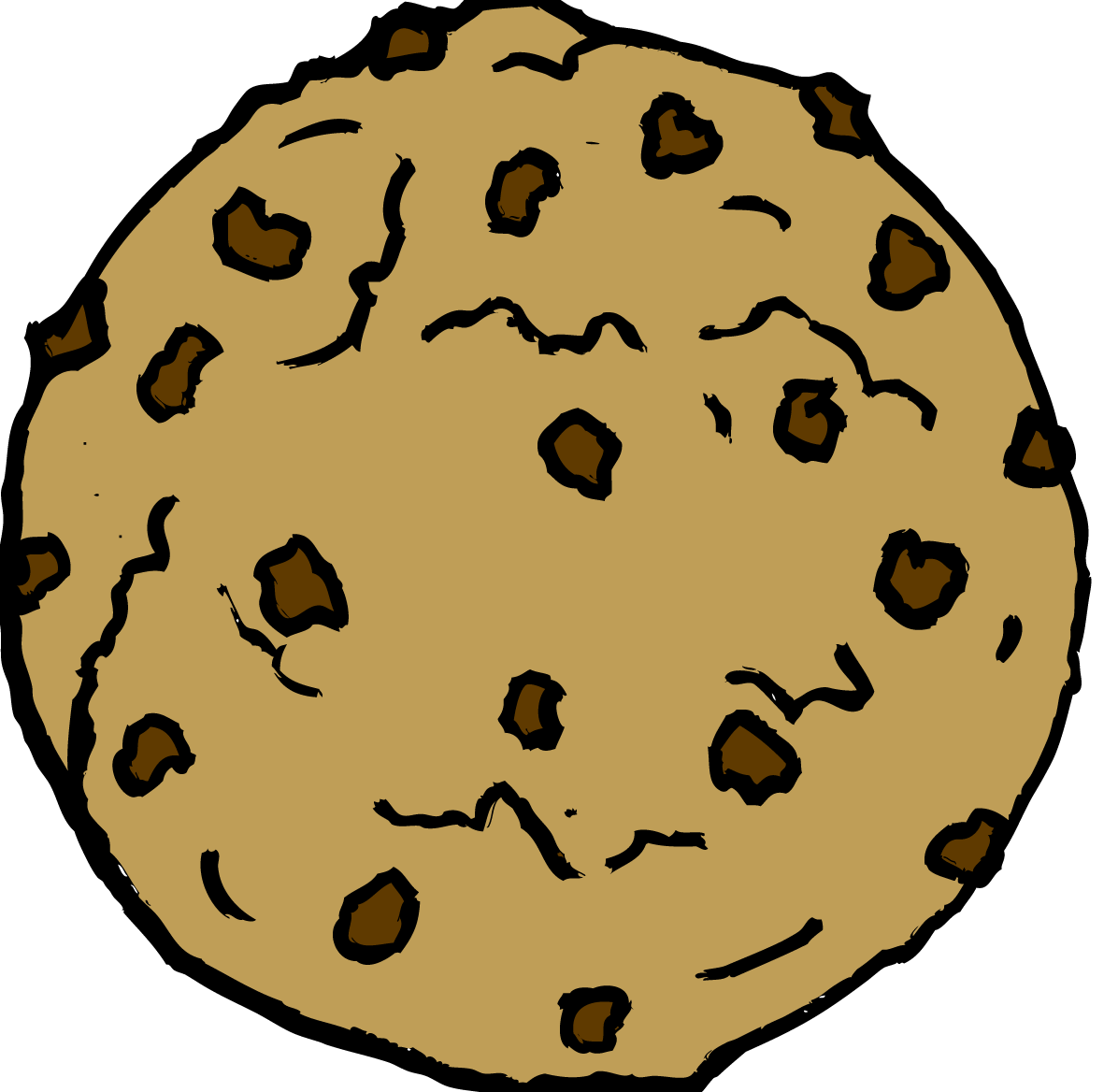Chocolate chip cookie Chocolate brownie Clip art.