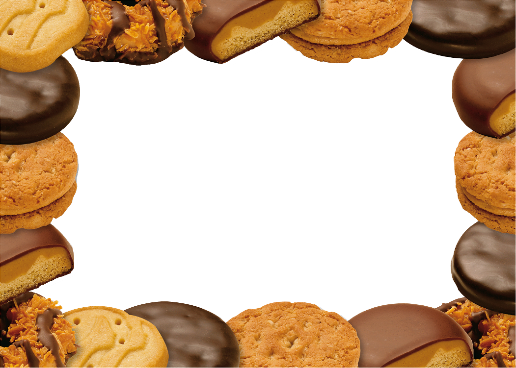cookie border.