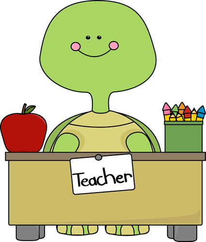 Free teacher desk clipart.