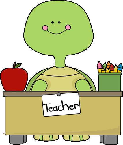 Free teacher desk clipart.
