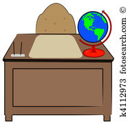 Teachers desk Illustrations and Clip Art. 1,022 teachers desk.