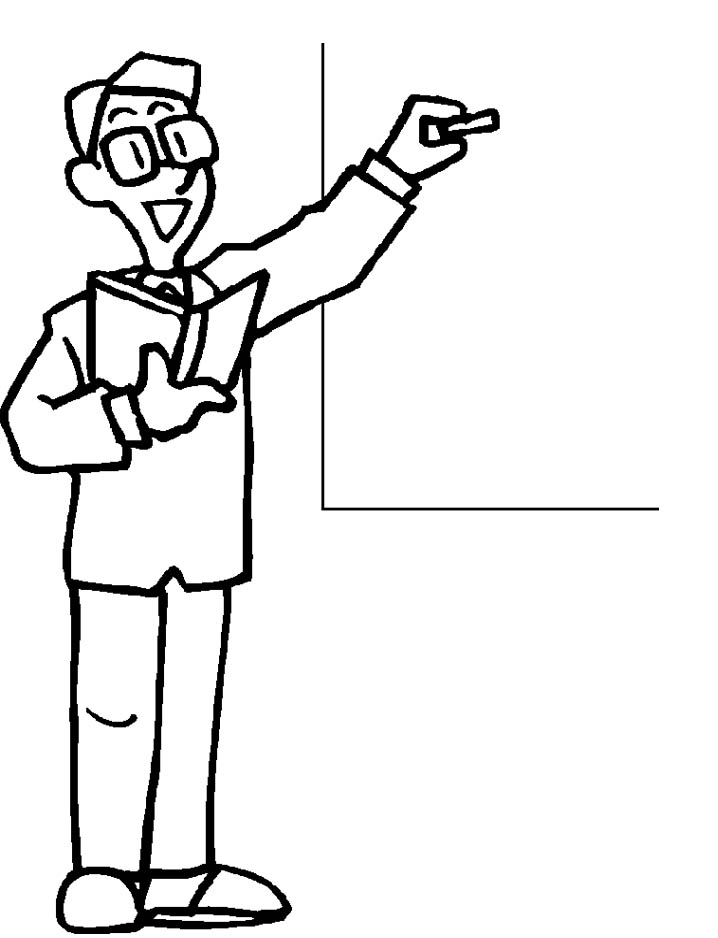 Drawing Teacher Clipart.