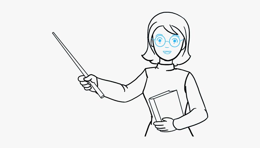 How To Draw Teacher.