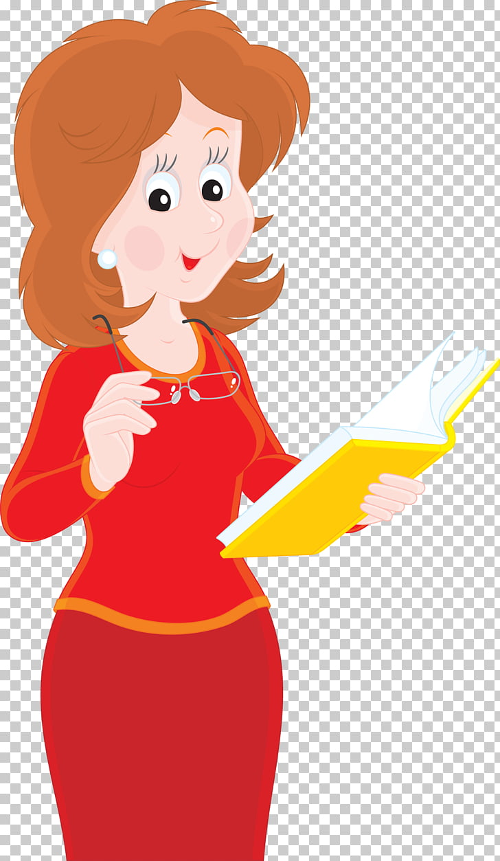 School teacher Drawing, teacher, woman holding book.