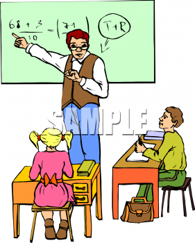 Math Teacher Helping Student Clip Art Pictures to Pin on Pinterest.