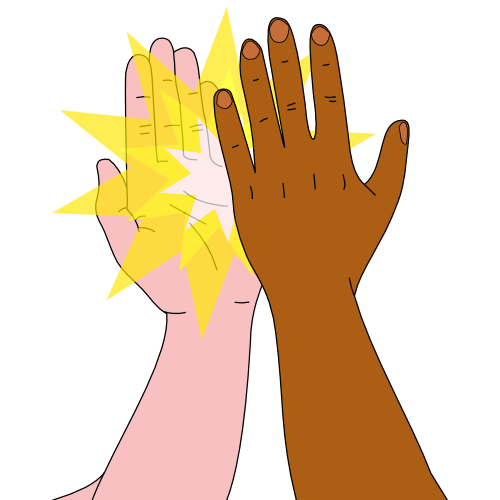 High 5 Clipart.