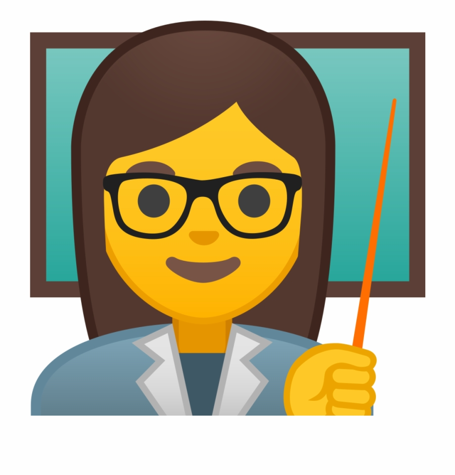 Teacher Icon Png Transparent Background Teacher Emoji Png.